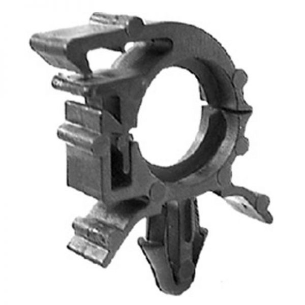 Cable Mount Wire Loom Routing Clip 11/32 ID 1/2'OD Loom (10pk)