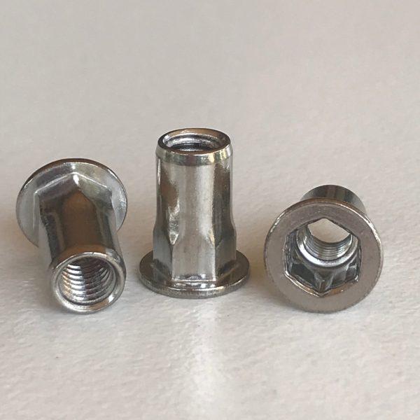 M5 Nut Insert / Hexsert 6.9mm